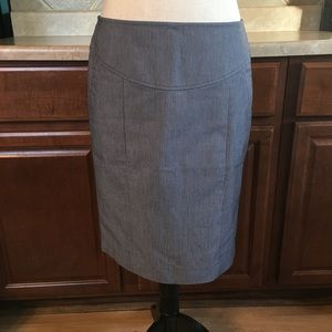 Banana Republic Stretch Skirt With Pockets